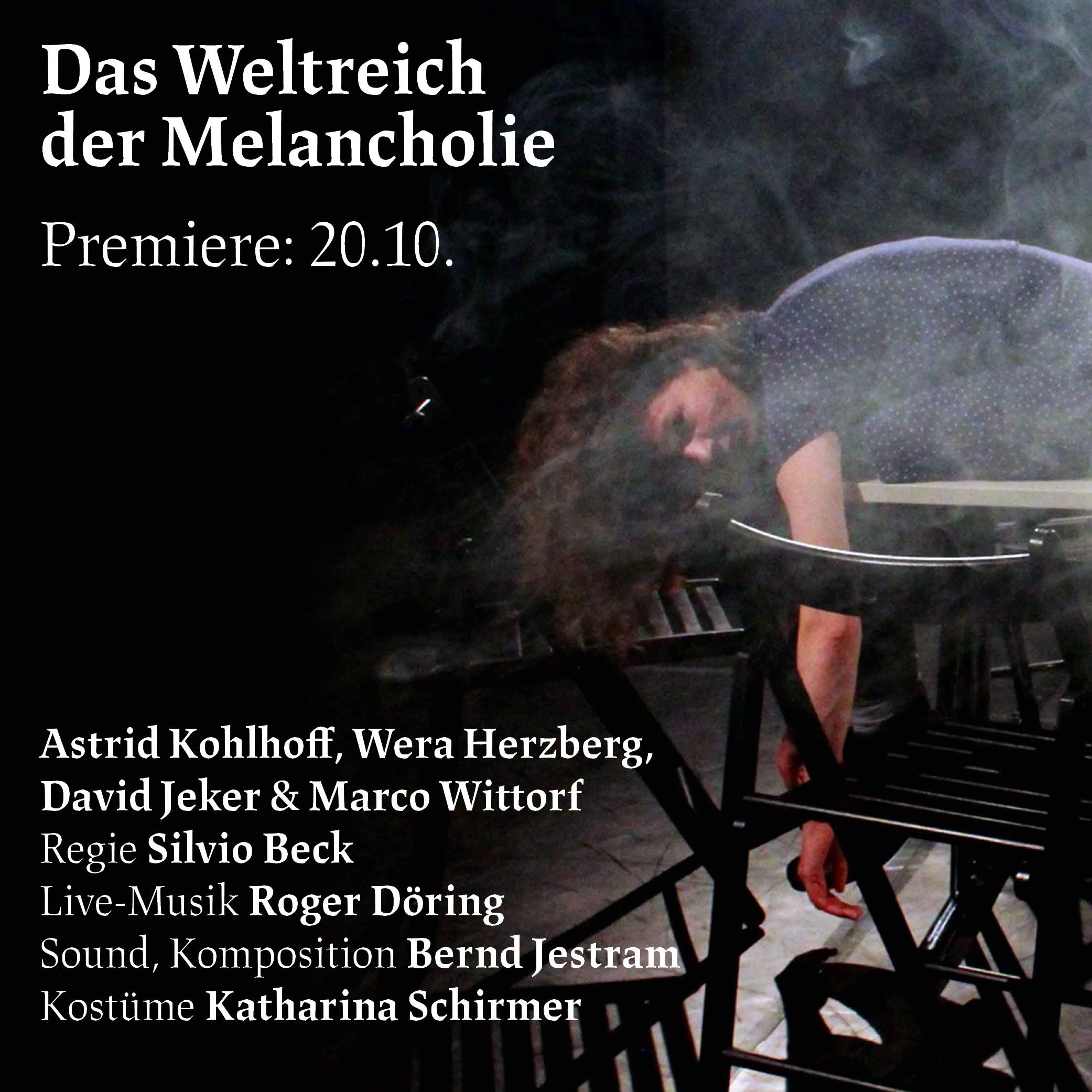 "Read more about the article ""Das Weltreich der Melancholie"" – Premiere am 20.10."